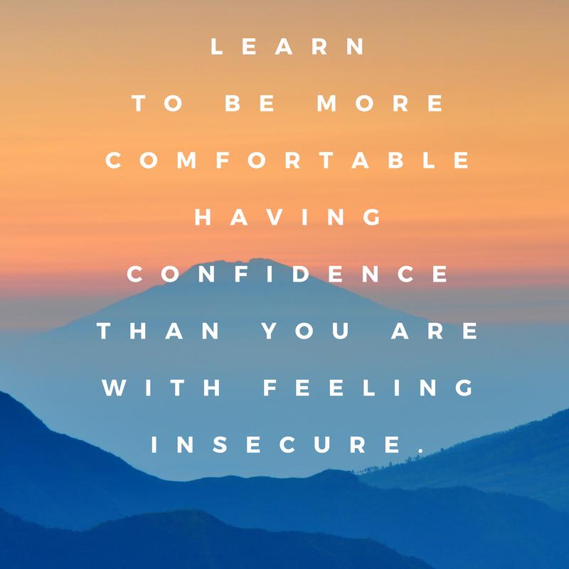 Confidence quote